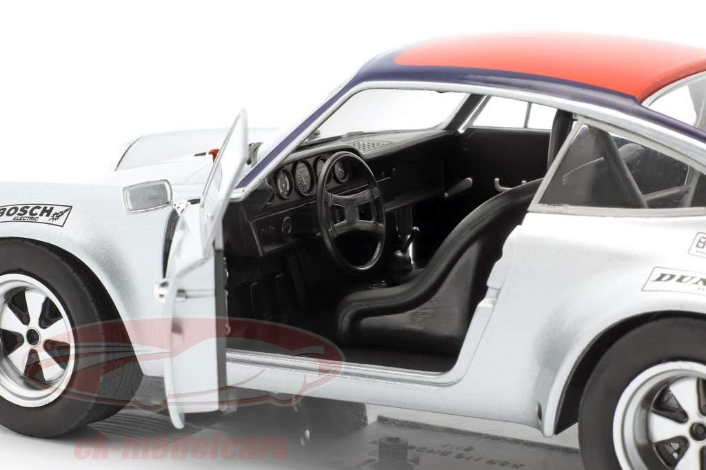 Porsche 911 Carrera RSR 2.8 #9 3rd Targa Florio 1973 Kinnunen, Haldi 1:18 Solido
