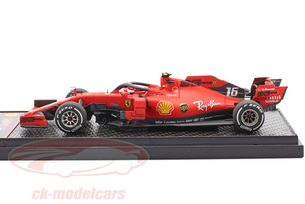 Charles Leclerc Ferrari SF90 #16 Winner Italian GP formula 1 2019 1:43 BBR