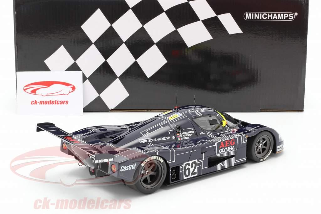Sauber-Mercedes C9 #62 24h LeMans 1988 Niedzwiedz, Acheson 1:18 Minichamps