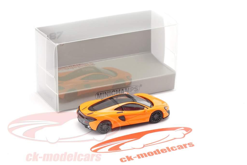 McLaren 570 GT Année de construction 2016 Orange 1:87 Minichamps
