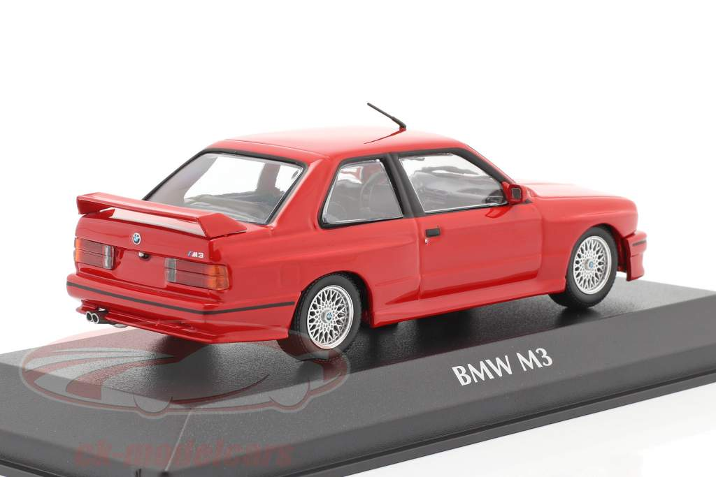 BMW M3 (E30) year 1987 red 1:43 Minichamps