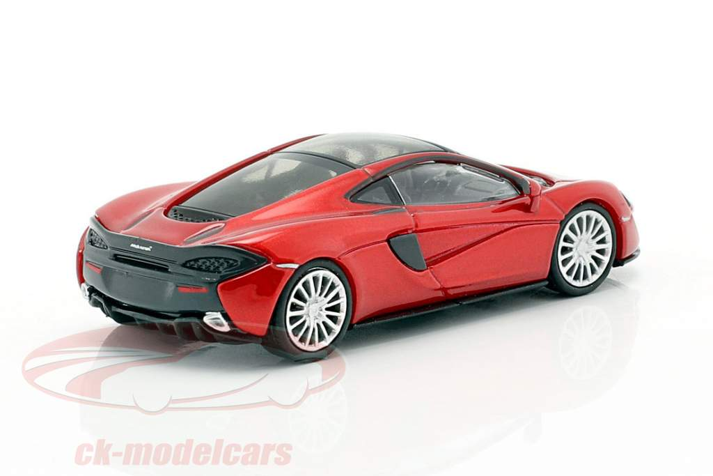 McLaren 570 GT Baujahr 2016 vulkanrot 1:87 Minichamps