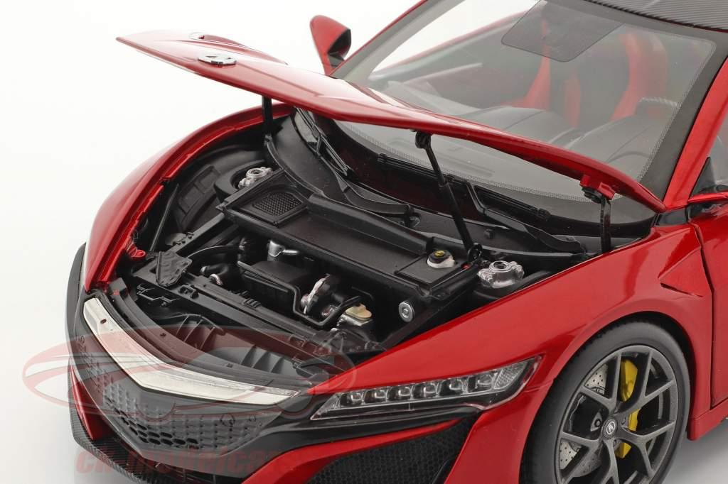 Honda Acura NSX LHD rød 1:18 KengFai