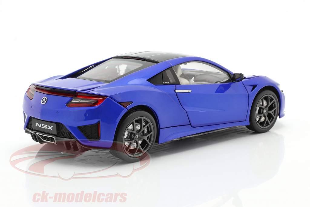 Honda Acura NSX LHD azul 1:18 KengFai