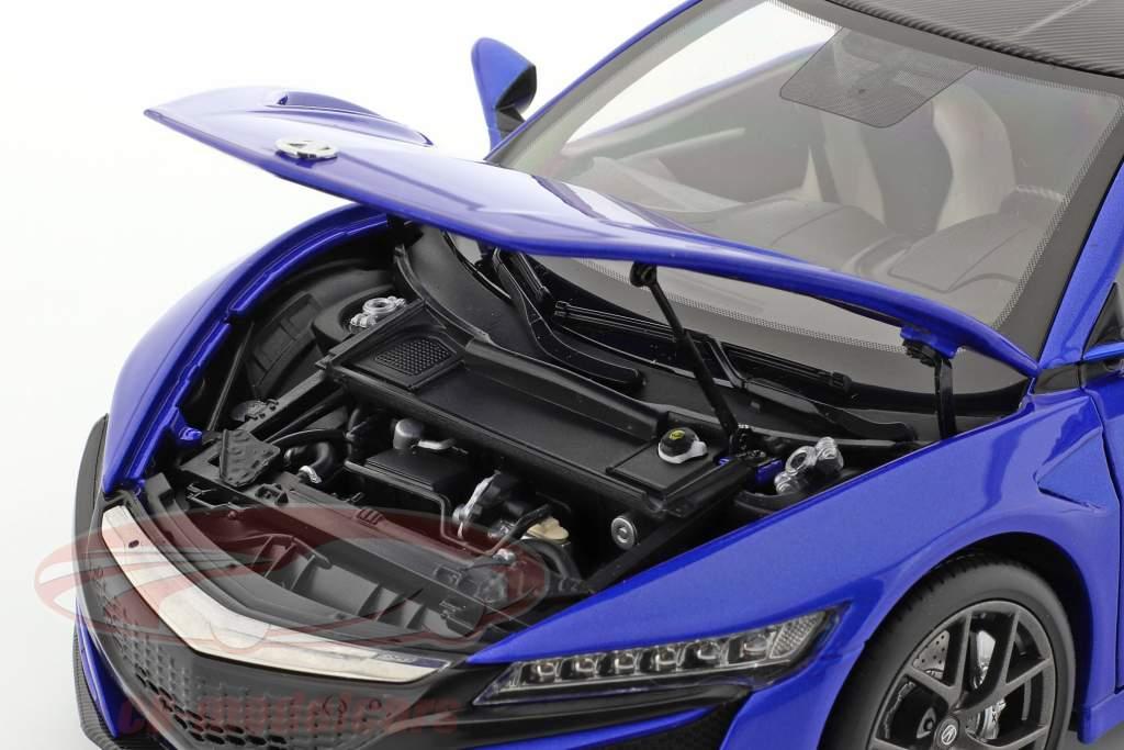 Honda Acura NSX LHD bleu 1:18 KengFai