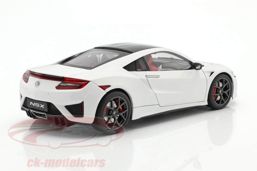 Honda Acura NSX LHD blanc 1:18 KengFai