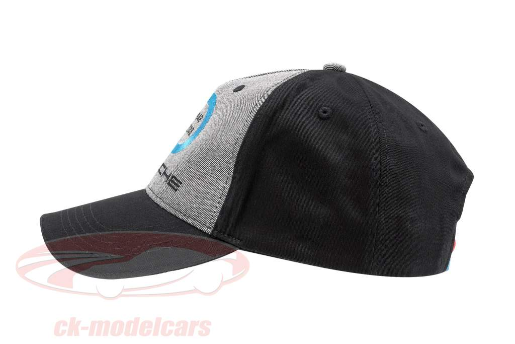 Porsche Baseball-Cap 70 Jahre Porsche 1948 - 2018 schwarz / grau