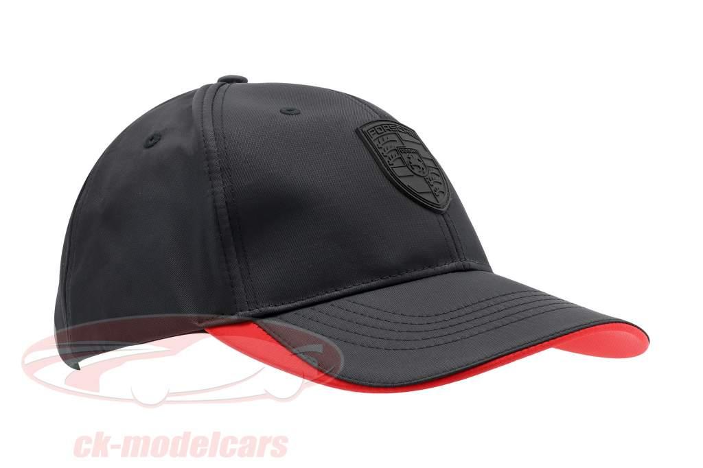 Porsche Baseball-Cap Med mærke sort