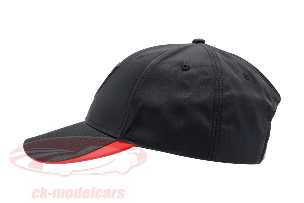 Porsche Baseball-Cap mit Wappen schwarz