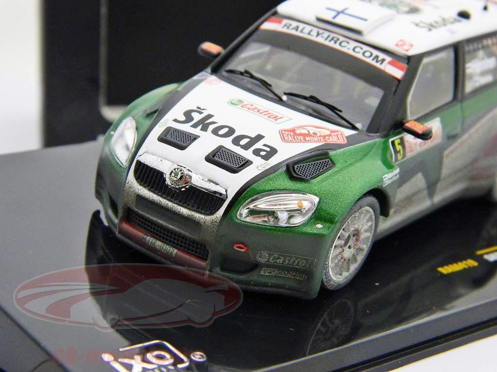 Skoda Fabia S2000 #5 Hanninen, Markkula 2nd rally Monte Carlo 2010 1:43 Ixo