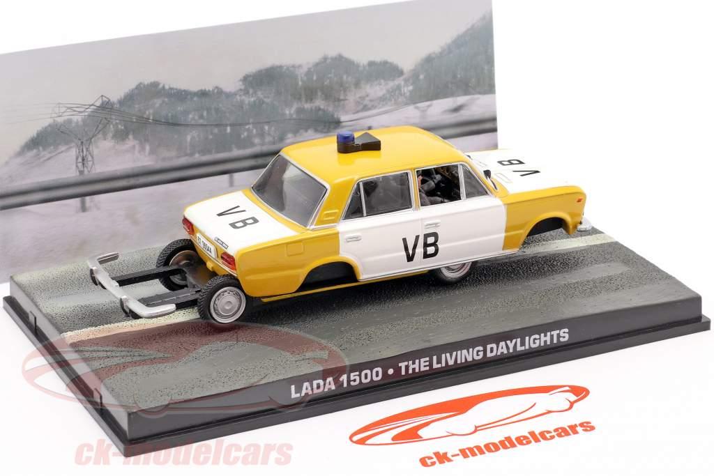 Lada 1500 bil af James Bond filmen The Living Daylights 1:43 Ixo