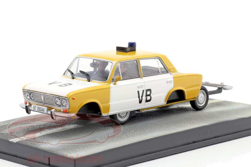 Lada 1500 James Bond Car Movie del Living Daylights 1:43 Ixo