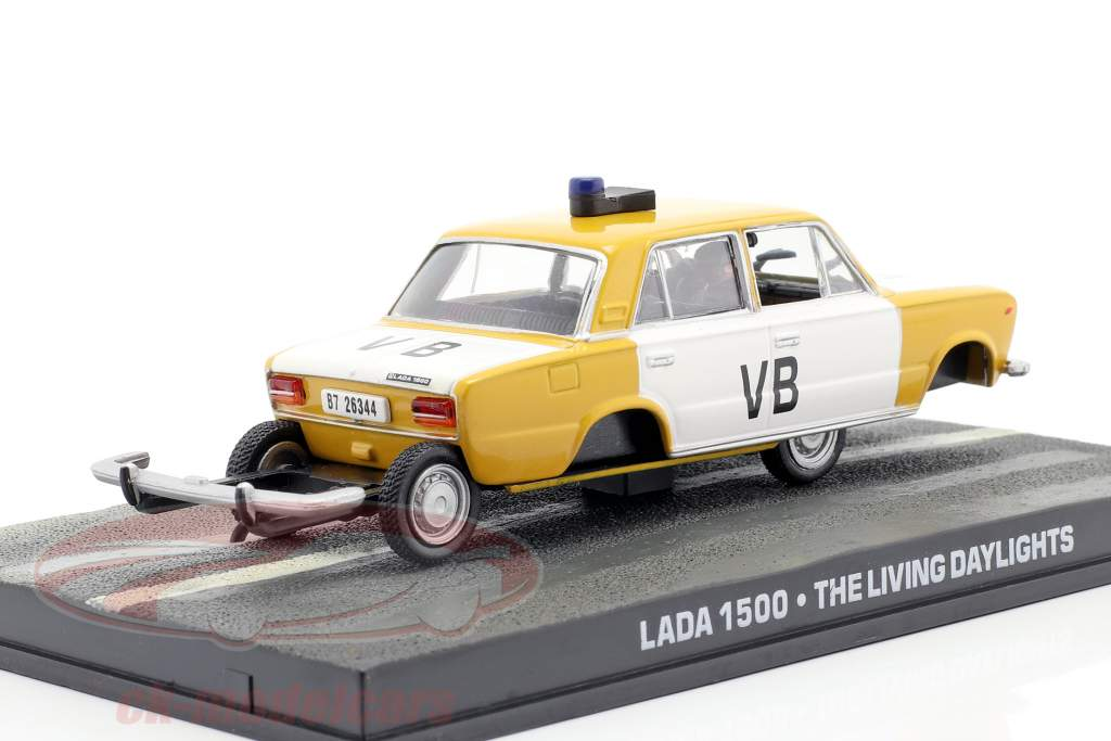 Lada 1500 Auto van de James Bond-film The Living Daylights 1:43 Ixo