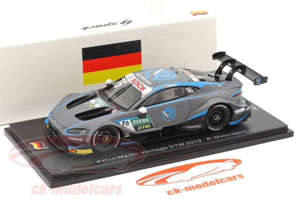 Aston Martin Vantage DTM #76 DTM 2019 Jake Dennis 1:43 Spark