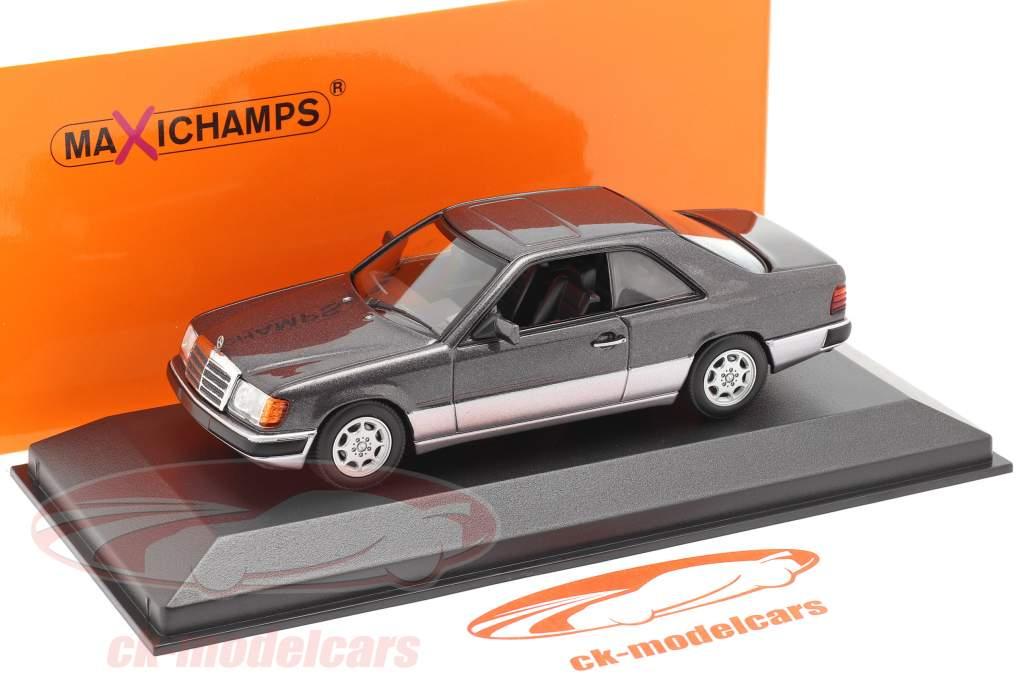 Mercedes-Benz 300 CE (C124) Anno di costruzione 1991 viola scuro metallico 1:43 Minichamps