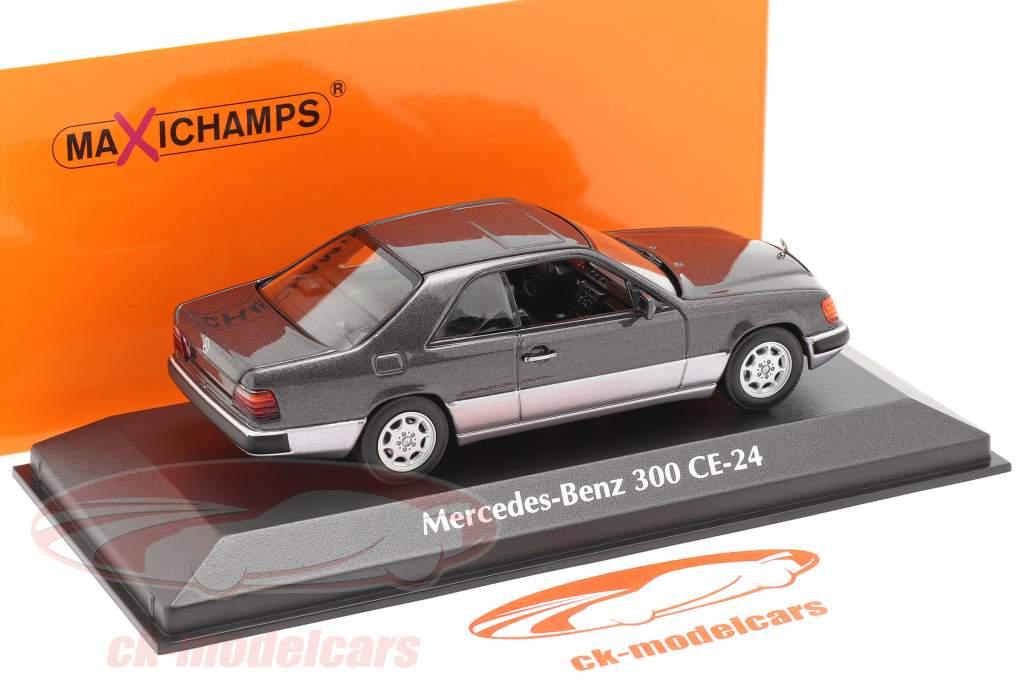 Mercedes-Benz 300 CE (C124) Année de construction 1991 violet foncé métallique 1:43 Minichamps