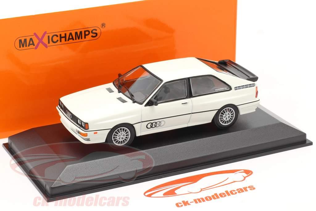 Audi Quattro year 1980 white 1:43 Minichamps