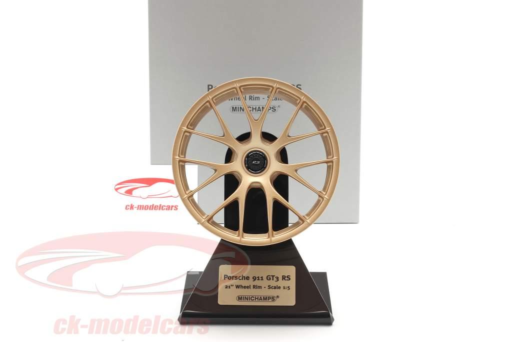 Porsche 911 GT3 RS 2020 Llanta de magnesio 21 inch 1:5 Minichamps