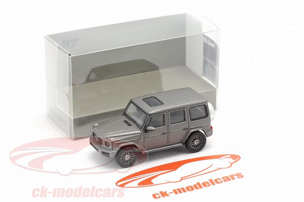 Mercedes-Benz Classe G. (W463) Anno di costruzione 2018 designo platino magno 1:87 Minichamps