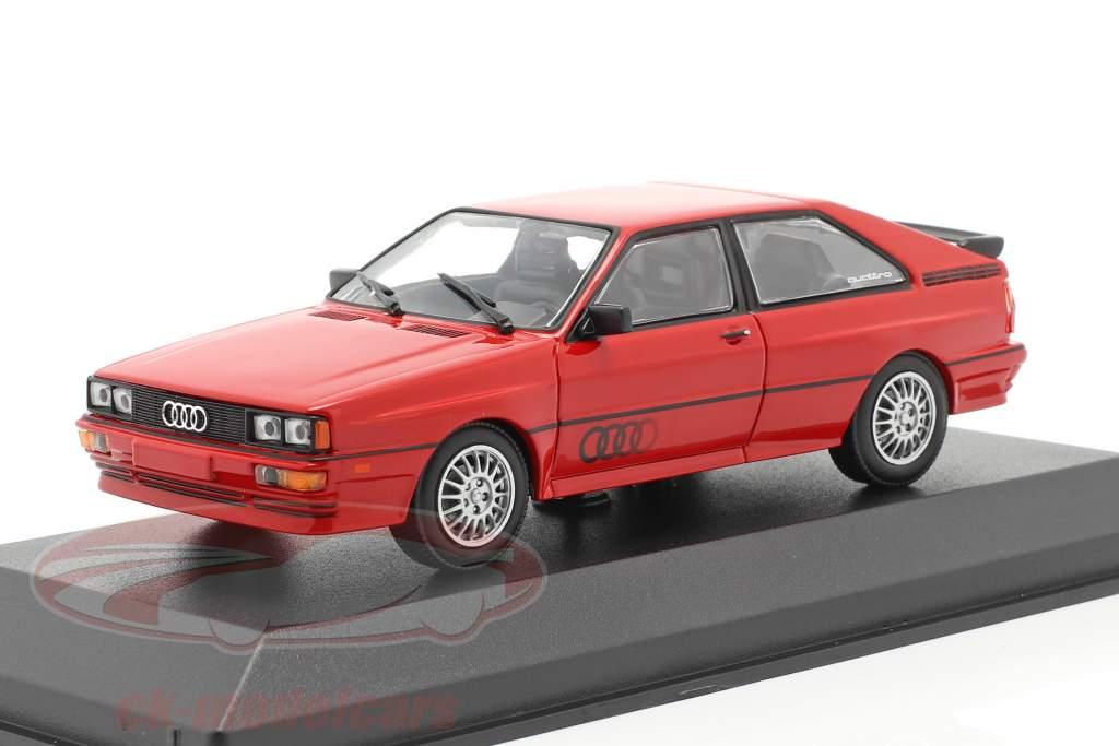 Audi Quattro Baujahr 1980 rot 1:43 Minichamps