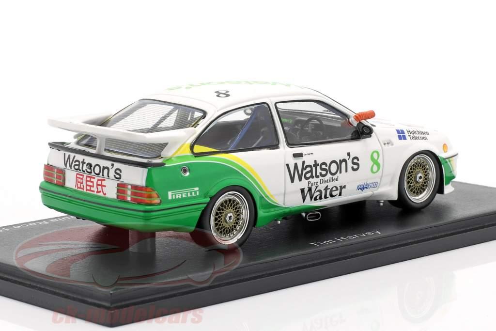 Ford Sierra RS500 Cosworth #8 Vencedora Macau Guia Race 1989 Tim Harvey 1:43 Spark