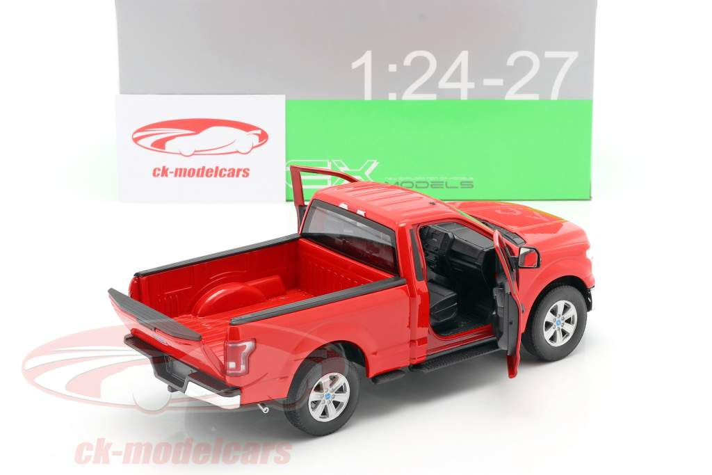 Ford F-150 Regular Cab anno 2015 rosso 1:24 Welly