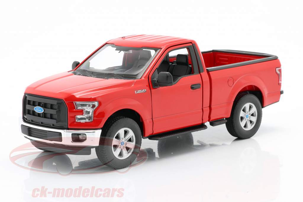 Ford F-150 Regular Cab année 2015 rouge 1:24 Welly