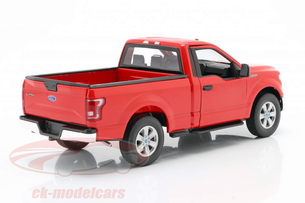 Ford F-150 Regular Cab Baujahr 2015 rot 1:24 Welly
