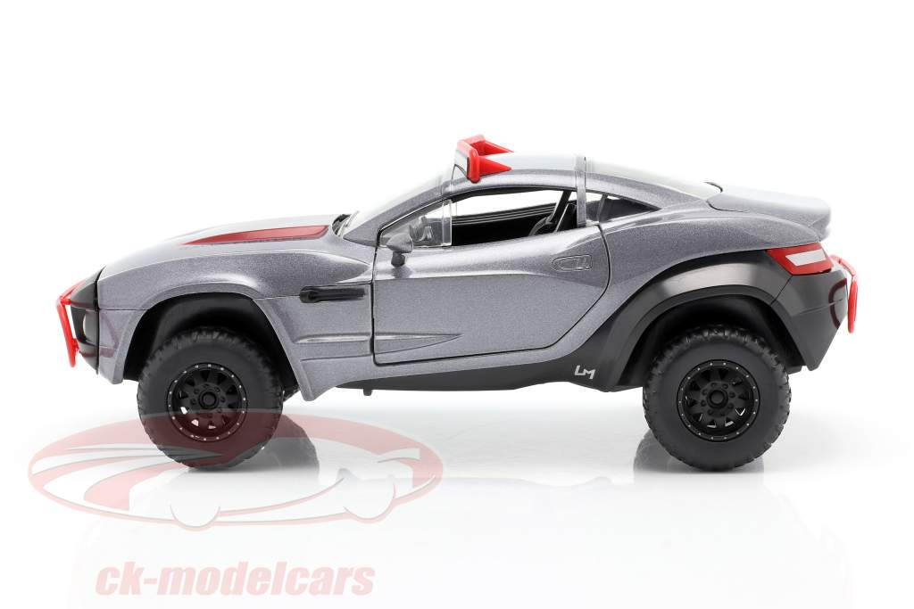 Letty's Local Motors Rally Fighter Fast and Furious 8 2017 grijs 1:24 Jada Toys