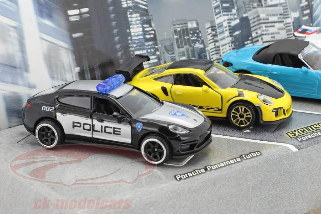 5-Car Set Porsche Edition Gavepakke 1:64 Majorette