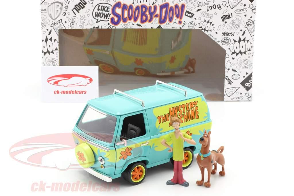 Van Mystery Machine Med tegn Shaggy & Scooby-Doo 1:24 Jada Toys