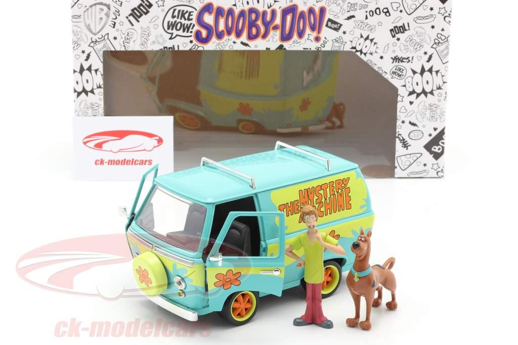 camioneta Mystery Machine Con caracteres Shaggy & Scooby-Doo 1:24 Jada Toys