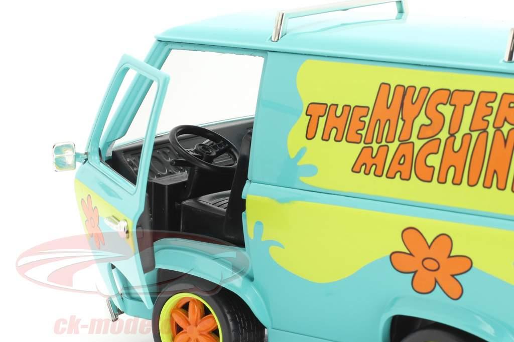 Van Mystery Machine Avec personnages Shaggy & Scooby-Doo 1:24 Jada Toys