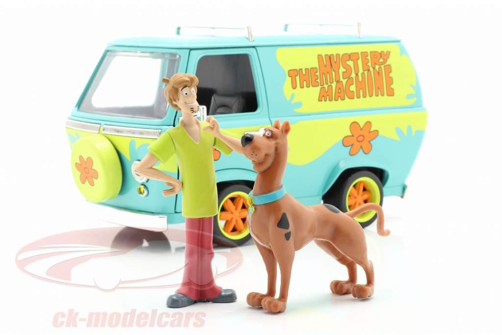 furgone Mystery Machine Con personaggi Shaggy & Scooby-Doo 1:24 Jada Toys