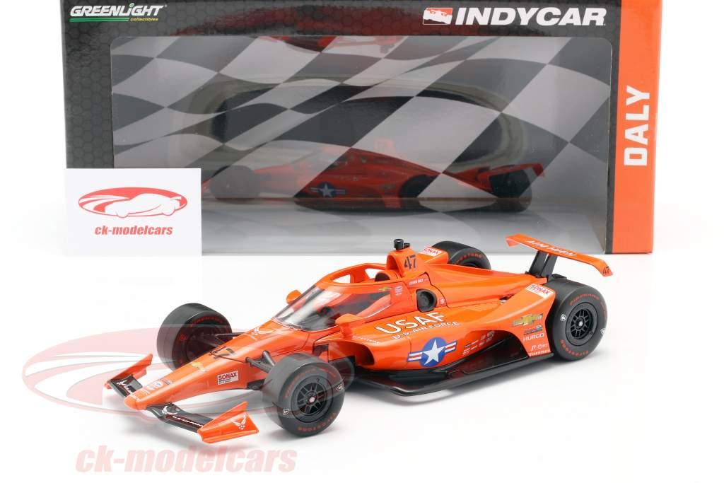 Conor Daly Chevrolet #47 Indycar Series 2020 Ed Carpenter Racing 1:18 Greenlight