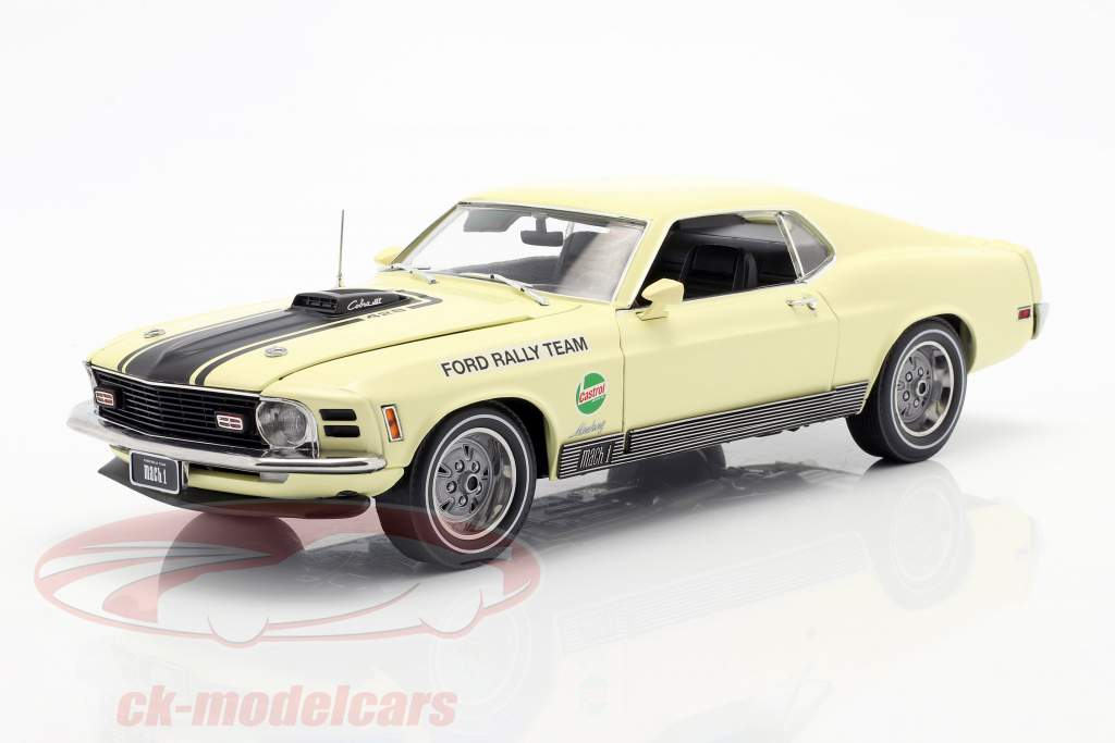 Ford Mustang Mach 1 1970 SCCA Manufacturer's Road Rally Championship 1:18 Highway 61