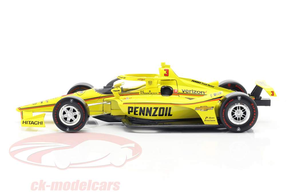 Helio Castroneves Chevrolet #3 Indycar Series 2020 Team Penske 1:18 Greenlight