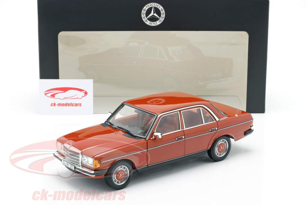 Mercedes-Benz 200 (W123) Año de construcción 1980 - 1985 rojo inglés 1:18 Norev