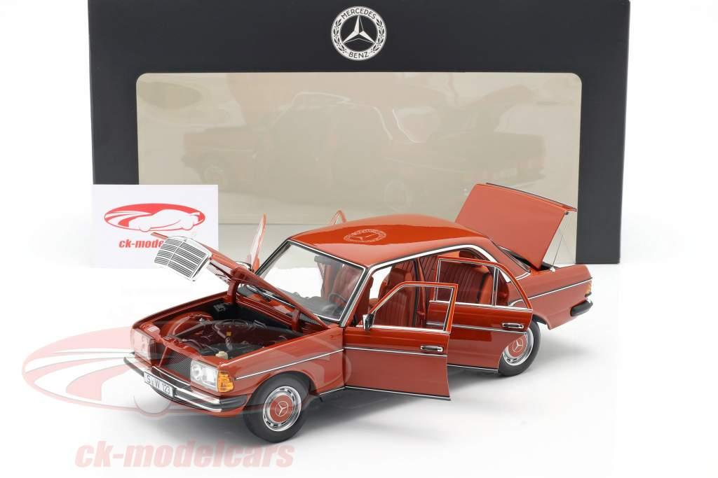 Mercedes-Benz 200 (W123) Ano de construção 1980 - 1985 inglês vermelho 1:18 Norev