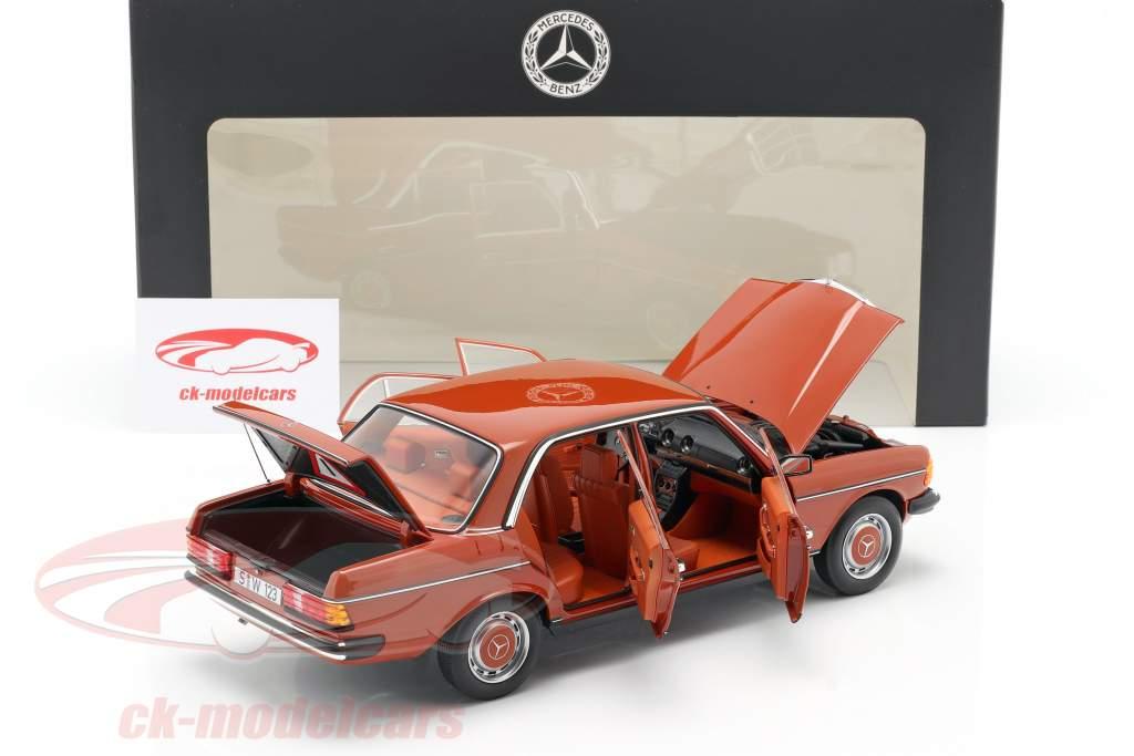 Mercedes-Benz 200 (W123) Baujahr 1980 - 1985 englischrot 1:18 Norev