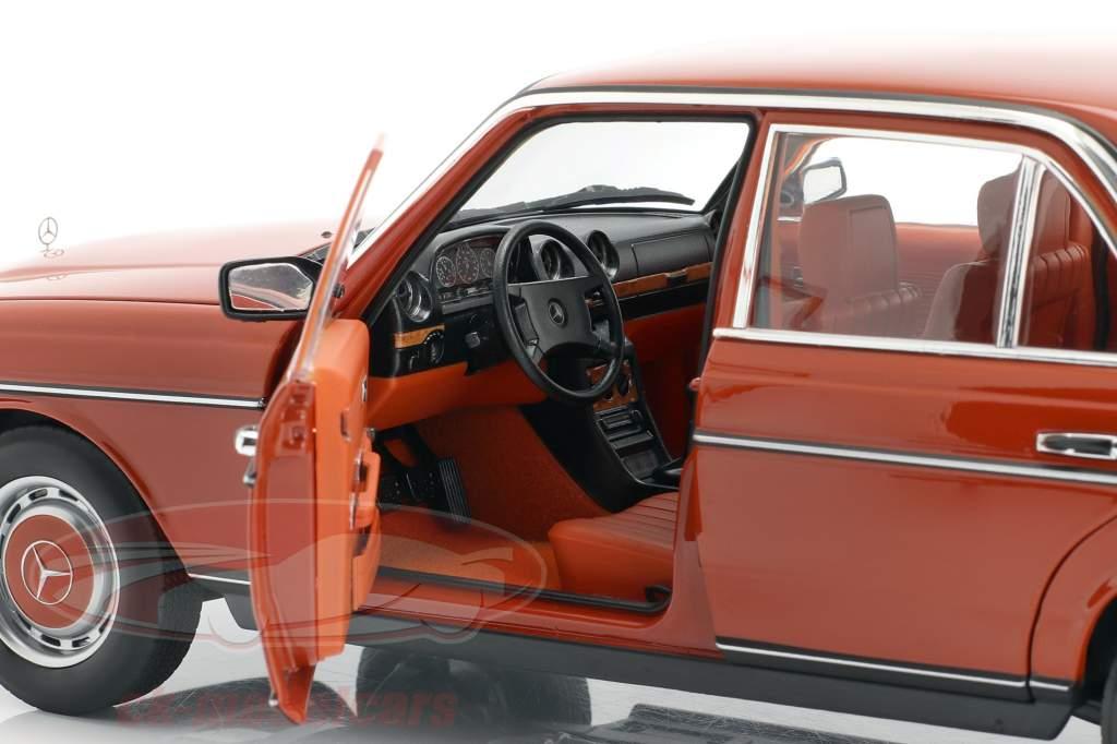 Mercedes-Benz 200 (W123) Année de construction 1980 - 1985 anglais rouge 1:18 Norev