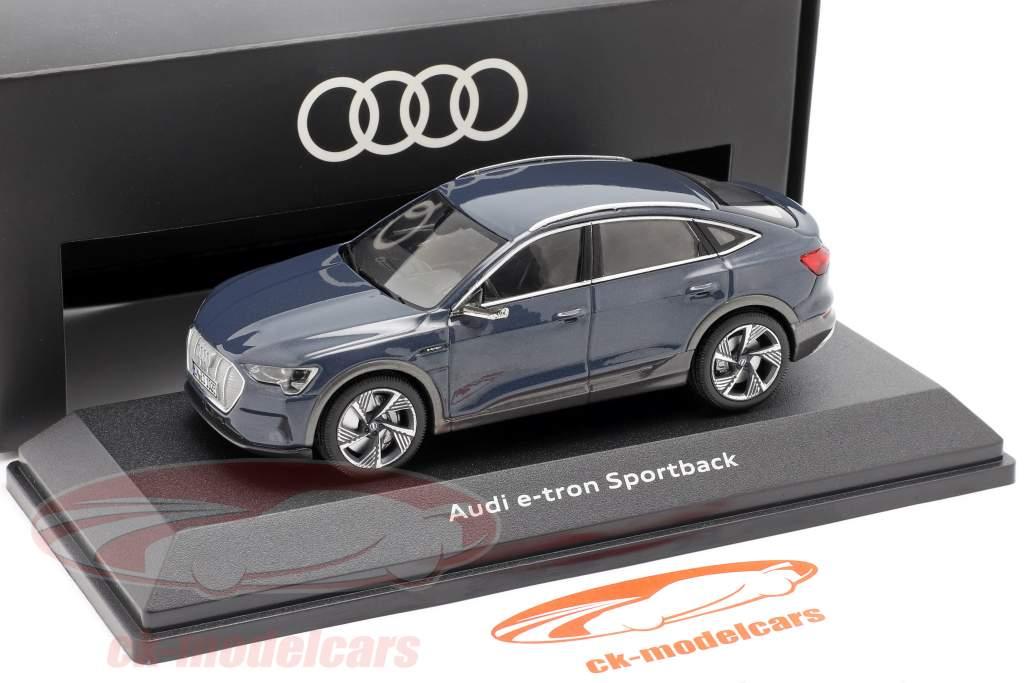 Audi e-tron Sportback Ano de construção 2020 plasma azul 1:43 iScale