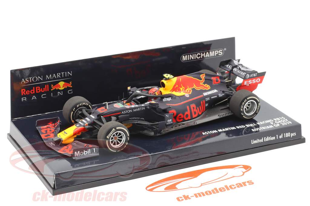 Pierry Gasly Red Bull Racing RB15 #10 Østrig GP F1 2019 1:43 Minichamps