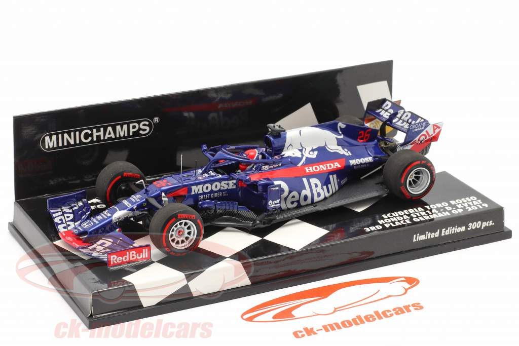 Daniil Kvyat Scuderia Toro Rosso STR14 #26 3 ° Tedesco GP F1 2019 1:43 Minichamps