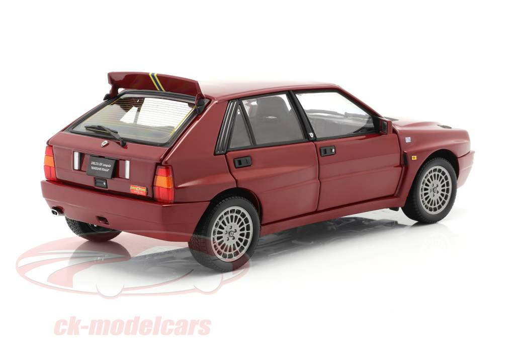 Lancia Delta HF Integrale Evoluzione 2 Final Edition 1992 red 1:18 Kyosho