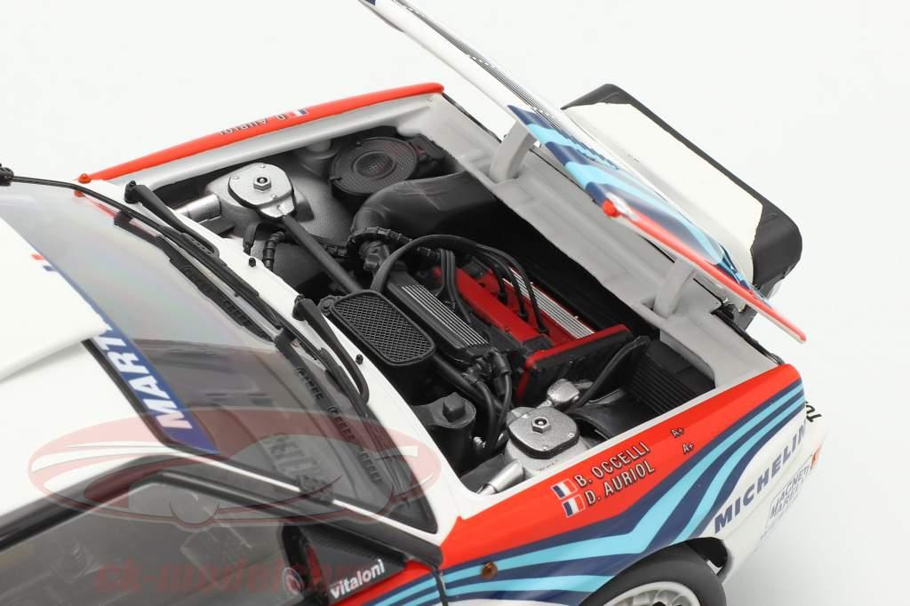 Lancia Delta HF Integrale #4 Sieger Rallye Monte Carlo 1992 Auriol, Occelli 1:18 Kyosho