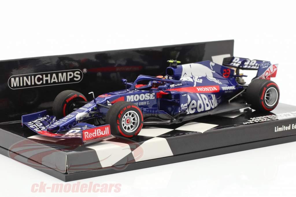 A. Albon Scuderia Toro Rosso STR14 #23 6th German GP F1 2019 1:43 Minichamps