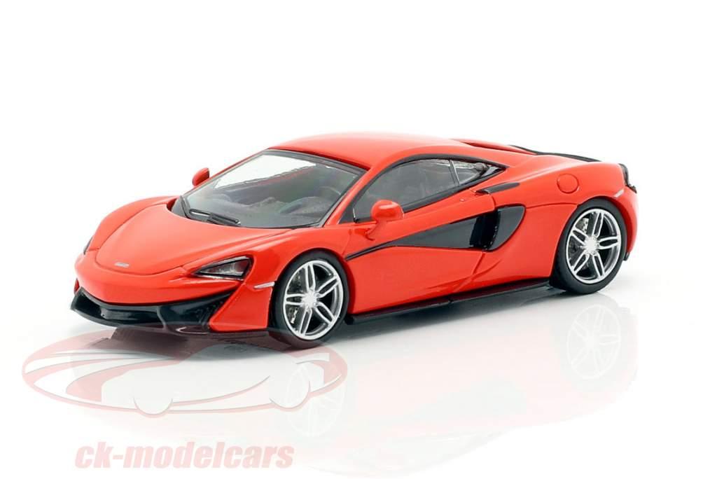 McLaren 570 S Anno di costruzione 2016 rosso 1:87 Minichamps