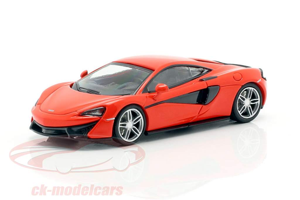 McLaren 570 S Byggeår 2016 rød 1:87 Minichamps
