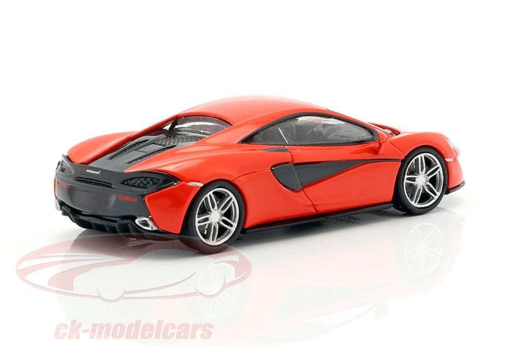 McLaren 570 S Année de construction 2016 rouge 1:87 Minichamps